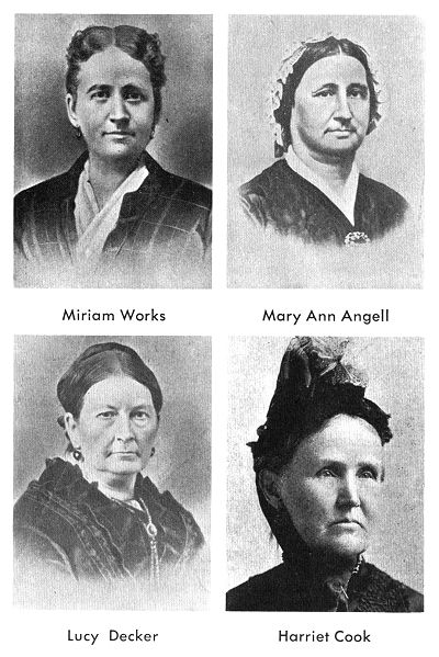 but have you SEEN the pictures of Brigham Young's wives?
