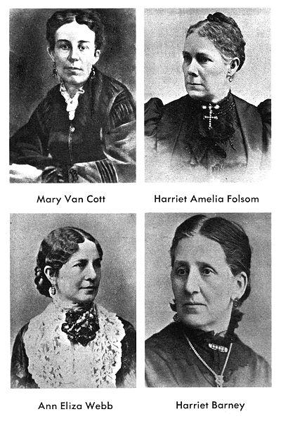 [Brigham's Wives: Cott, Folsom, Webb, Barney]
