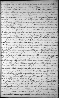 Joseph Smith's Handwritten 1832 First Vision